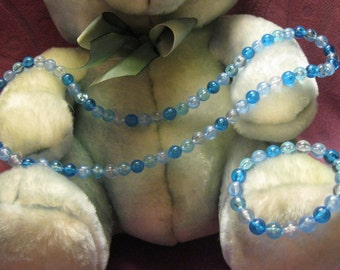 SHADES Of BLUE CHILDREN Jewelry Set