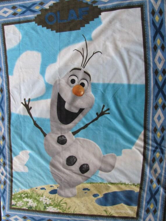 Frozen Olaf Double Layer Fleece Blanket
