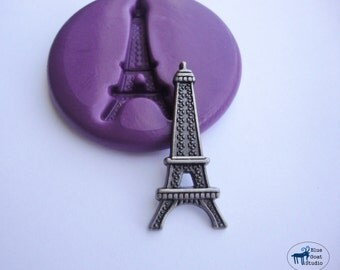 Eiffel Tower Mold - Paris -Silicone Molds - Polymer Clay Resin Fondant