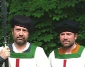 Pattern for Early Tudor Men's Bonnet/Hat