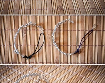 Custom word bracelet, handmade bracelet with personalized text, adjustable size, sentence bracelet