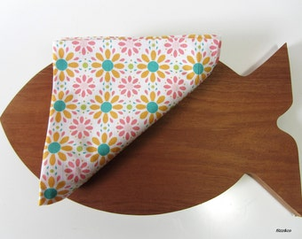 Napkins cloth napkins Napkins-Set of TWO table coasters coasterstable mats 2pieces Flower