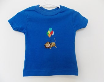 Flying Lion T-Shirt - 12 mos