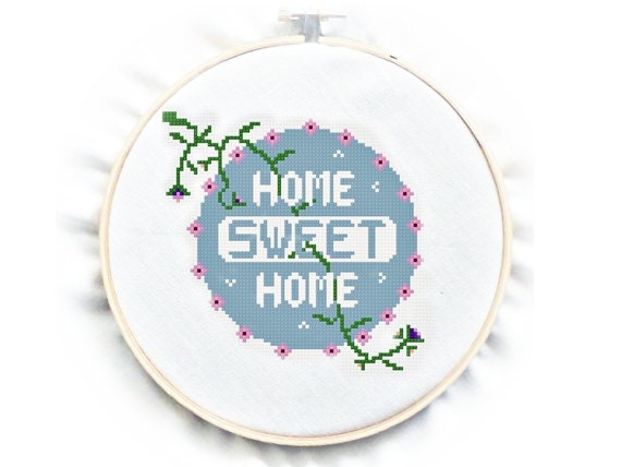 cross stitch pattern instructions