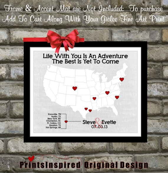 First Wedding Anniversary Gift Ideas For My Wife : Custom 1st First Wedding Anniversary Gift: For Husband Wife Him Her ...