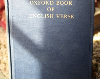 The Oxford Book of English Verse 1250-1918