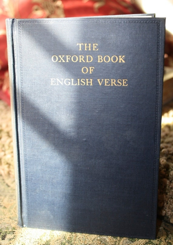 The Oxford Book of English Verse | eBay