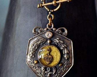 Caesar Sagrado Sacred Heart Sterling Pendant