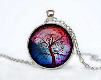TREE OF LIFE Pendant  Tree of life Necklace Silver Tree of life Jewelry