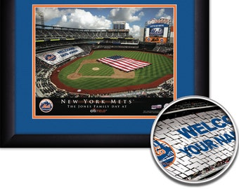New York Mets Personalized Print Citi Field