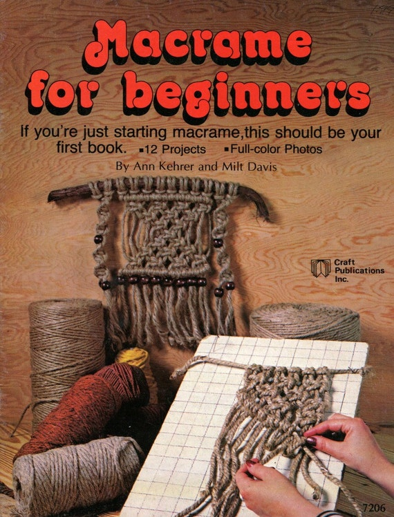 macrame projects for beginners macrame for beginners how to pattern book learn how to 9319