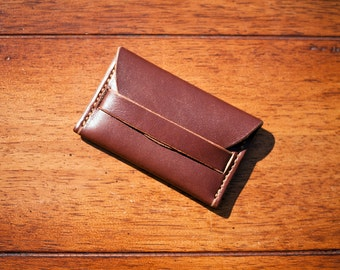 Leather Pocket Wallet + FREE personalisation