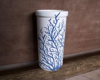 Coral Ceramic Wine Cooler