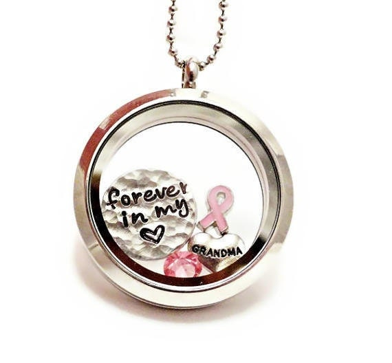 memory locket floating charm locket breast by