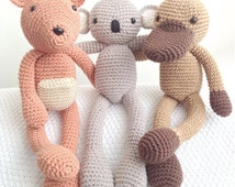 Popular items for amigurumi koala on Etsy