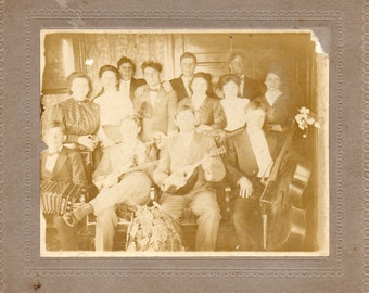 Antique Photo of Band