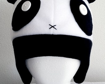 Made-to-Order Teddy Bear Panda Fleece Hat