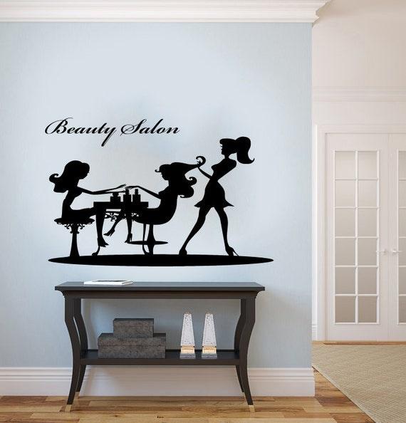 Graceful Girl Woman Silhouette Housewares Wall Vinyl Decal Art