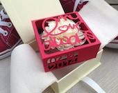 My Love Always cut-out Box