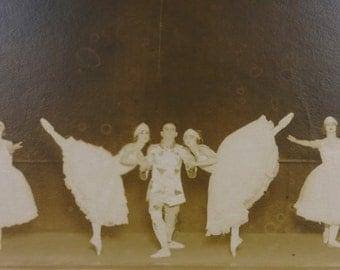 Original 1910's Chicago Theatre Ballet Photograph By H A Atwell Studio 14 x 11 - Free Shipping