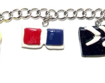 Let's go to the Movies! Charm Bracelet
