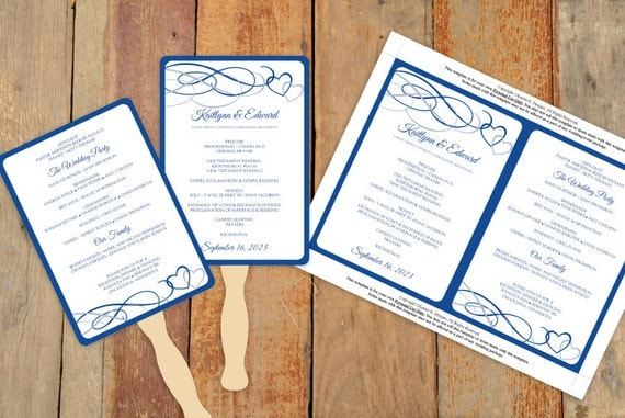 Diy wedding fan program template download by karmakweddings for Diy wedding program fan template