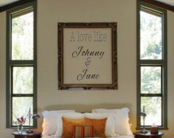 Love like Johnny & June