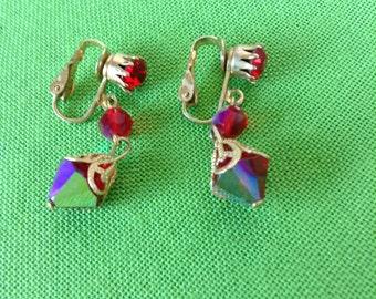 Vintage Clip-On Earrings (Item 513)