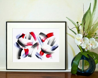 REDUCED - Brushstrokes - No.3 (Abstract)