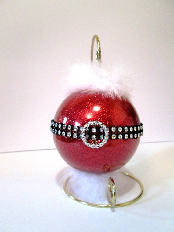Santa claus ornament handmade large gifts under