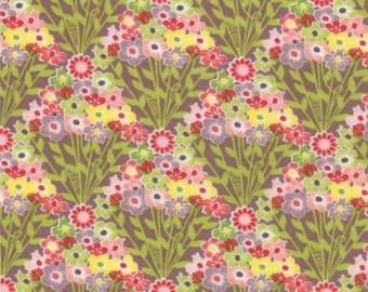 Floral Bouquet Fabric - Flowers Fan from Chantilly by Lauren and Jessi Jung for Moda Fabrics 25073 16 - 1/2 yard