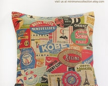 Popular Items For Newspaper Pillow On Etsy