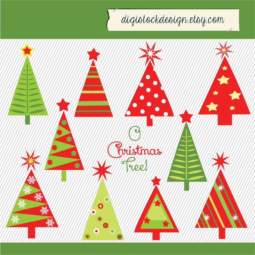 Christmas holiday dress - Red And Green Christmas Tree Clip Art Galleryhip Com The Hippest