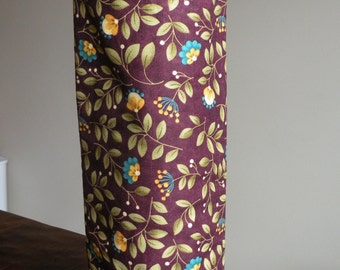 Quilted Wine Tote/Reusable Wine Gift Bag