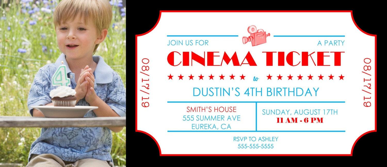 kino ticket geburtstag einladung 4