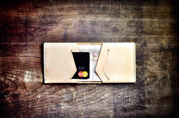 Leather Wallet, Slim Minimal Wallet, Oyster Card Holder, Minimalist Wallet, Leather Wallet, Credit Card Holder, Mens Wallet, Handmade, UK