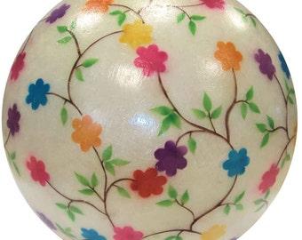 Flowers fiberglass ball / lighting fixture