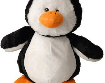 Personalized Stuffed Animal-Penguin
