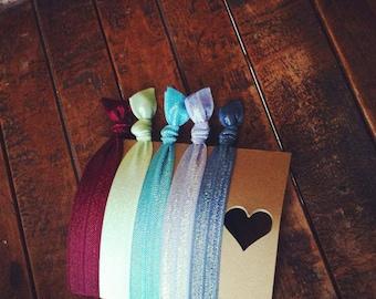 Pick 5 Solid Hair Ties