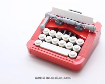 Custom LEGO Retro Typewriter