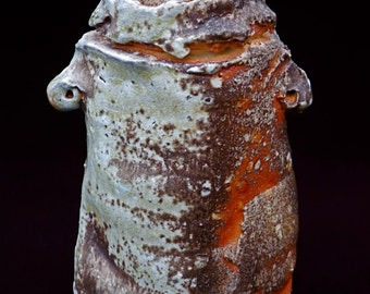 natural ash glaze vase