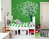 Nursery Tree Wall Decal Wall Sticker - Tree Wall Decal - Tree Decals - Large K019