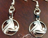 925 Sterling Silver Celtic Triskele Earrings