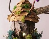 Goblin Fairy House Magical Cottage Ornament