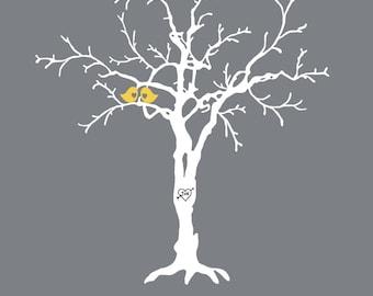 Wedding Tree Thumbprint Guestbook