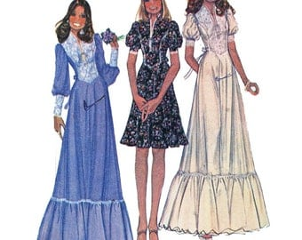 McCall's 4381 Sewing Pattern Misses & Junior Petite Dress  Size 8-10-12