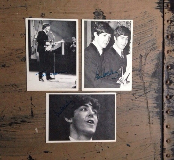 Beatles Trading Cards your choice John Lennon Paul McCartney