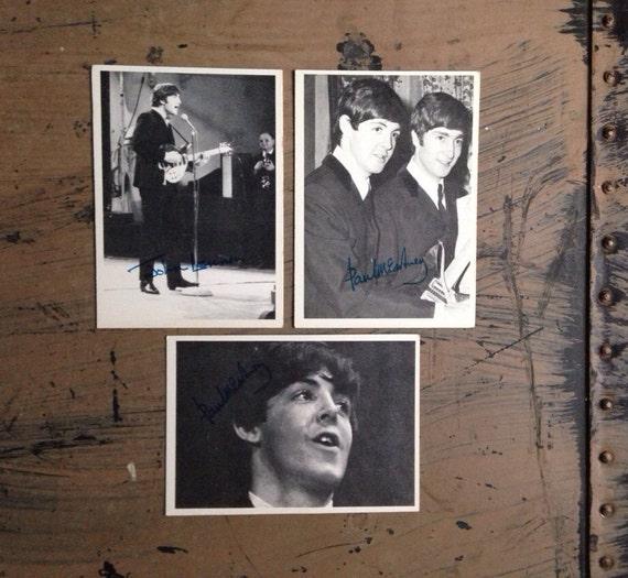 Beatles Trading Cards your choice John Lennon Paul McCartney