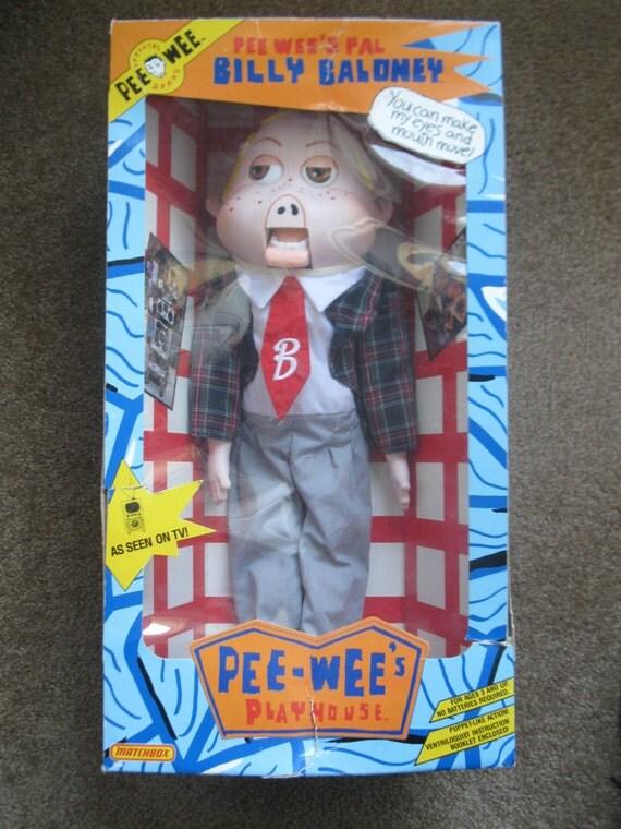 Merchandising Pee-Wees Playhouse