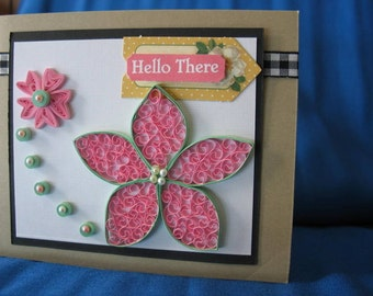 QUILLED greeting cards, handmade and custom designed